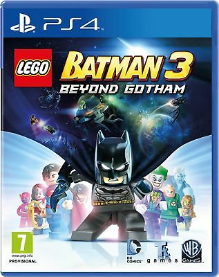 Lego Batman 3 Beyond Gotham (PS4) Brand New & Sealed - UK PAL