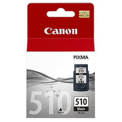 Canon PG-510 / PG510 / PG 510 Black Ink Cartridge For Pixma MP280 MP282 Printers