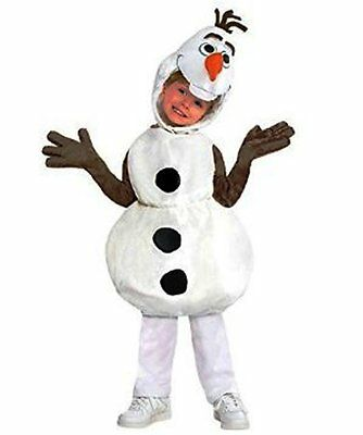 Baby Halloween Costume Frozen Olaf Discuise Disney Kids Size L Toddler Deluxe