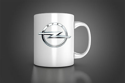Personalised Opel Mug Cup GIFT COFFEE TEA CUP Opel new logo CUP