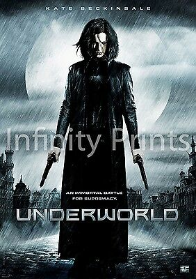 Underworld Movie Film Poster A A2 A3 A4