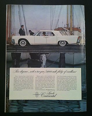 1965 lincoln continental competitive newsflash brochure 137510. Black Bedroom Furniture Sets. Home Design Ideas