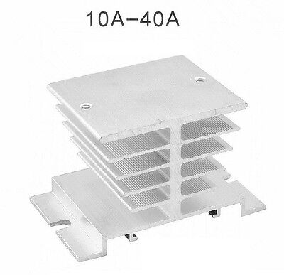 2x Aluminum Heat Sink for Solid State Relay SSR Heat Dissipation 10A-40A L8