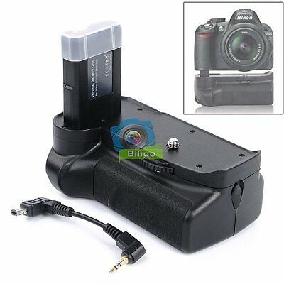 Multi-Power Vertical Battery Grip Pack For Nikon D3100 D3200 D3300 Camera【UK】