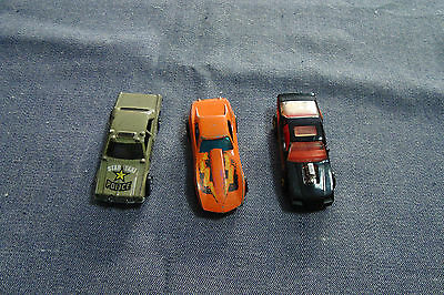 Lot of vintage hot wheels cars police taxi,corvette stingray and race car