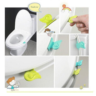 Handle Hygienic Toilet Seat Cover Lifter Seat Cover Lift Handle Angel Wing