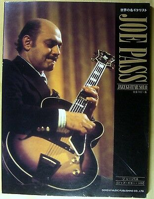 Joe Pass Japan Guitar Score Tab