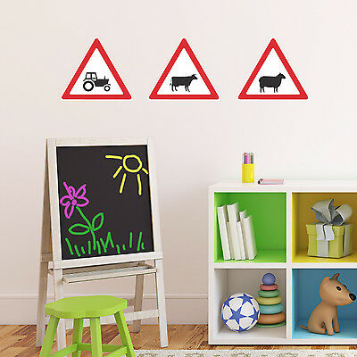 Road Sign Wall Stickers - Farm Wall Stickers