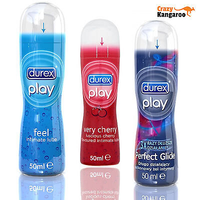 Durex Play Very Cherry / Feel / Perfect Glide Original Intimate Lubricant 50ml