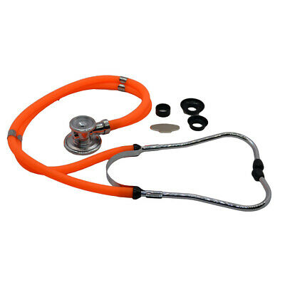 Doctors Sprague Rappaport Stethoscope for cardiology + respiratory Black Tubes
