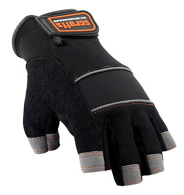 Scruffs FINGERLESS Max Performance Gloves - Safety Work Glove - T50991