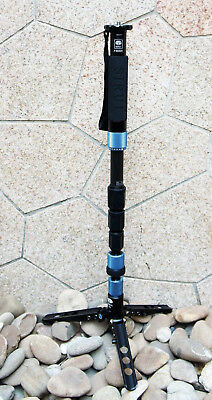 Sirui P-224SR Carbon Fiber Monopod w/ Three Stand Feet USA