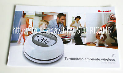 Honeywell Termostato Ambiente Wireless Art. Y87Rfc Wifi Gestione Pc Smartphone