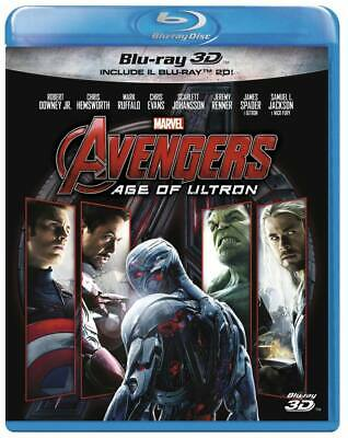 Avengers 2 Age Of Ultron (3D) (Blu-Ray + Blu-Ray 3D) MARVEL