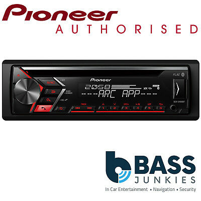 Pioneer DEH-S4000BT Bluetooth USB CD MP3 AUX In Car Stereo Radio Android Player