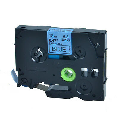 Black on Blue Label Tape Compatible for Brother TZ TZe 531 Tze531 P-Touch 26.2ft