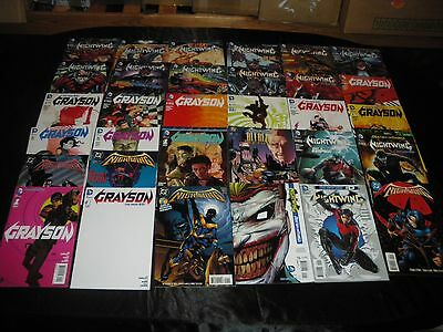 Nightwing 1 2 3 4 New 52 #0 10 11 15 16 17 21 23 - 30 Grayson 1 Variant 1 - 10 A