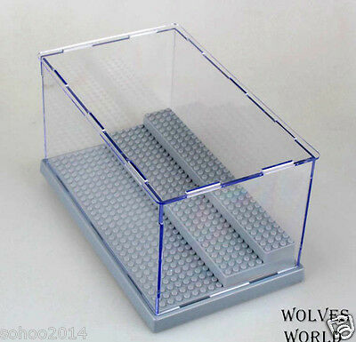 x1 BIG BOX for LEGO toys display Case minifigure 3 decks collector assemble box