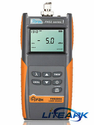 FHP2A04 Ftth Fiber Optic Power Meter Cable Tester Optical Tester -70~+10 dBm USB