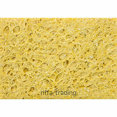 Soldering Sponges, Iron, Tip, Cleaning Pads, Solder Cleaner, Flux, 50mm x 35mm
