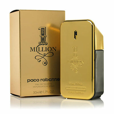 Paco Rabanne 1 Million for men Eau de Toilette EDT 50ml BNIB