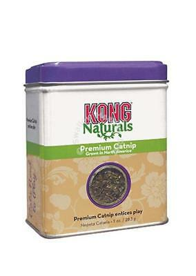 Kong Naturals Premium Catnip Tub 1oz Highest potency Irresistable to cats kitten