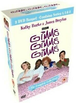 GIMME GIMME GIMME COMPLETE SERIES DVD COLLECTION BOX SET Season 1 2 3 New Sealed