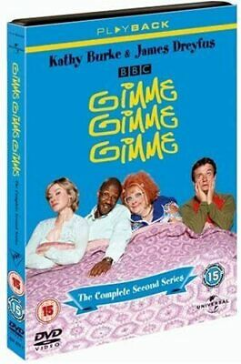 GIMME GIMME GIMME COMPLETE SERIES 2 DVD Brand New and Sealed UK 2nd Season