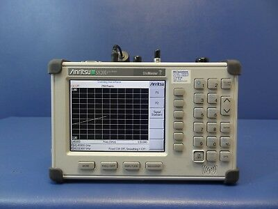 Anritsu S820D Site Master Broadband Cable & Antenna Analyzer