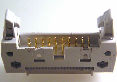 IDC Latched Boxed Header 10 to 64 Straight Pin Range MEMHF 2 Pieces EB63