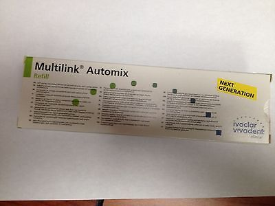 Ivoclar Vivadent Multilink Automix Easy Refill White Opaque 615218