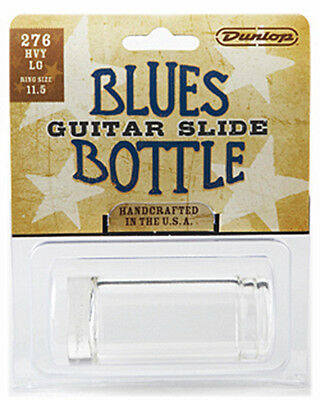 Dunlop Blues Bottle Glass Guitar Slide Heavy Wall (Large) #276 *new* Made In Usa