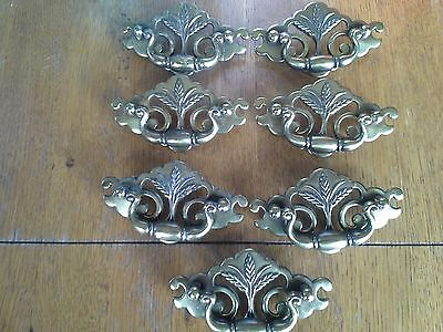 Lot of 7 Vintage Style Drawer Pulls
