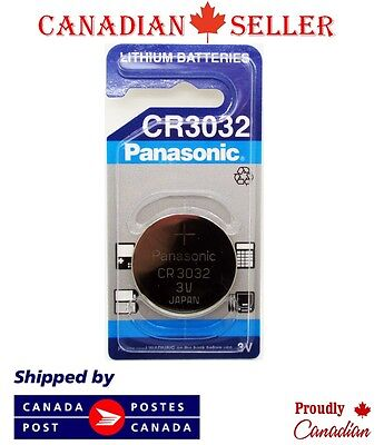 1 PC Genuine Brand NEW Panasonic CR3032 BR3032 3032 3V Lithium Coin Cell Battery