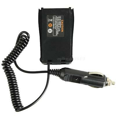 Car Radio Battery Eliminator + Charger Adaptor for Baofeng BF666S/777S/888S KMLG
