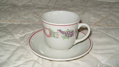 C4 Pottery Boots Orchard Cup & Saucer 14x9cm 6B4A