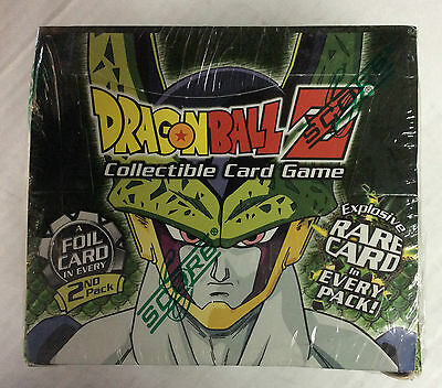 2002 Dragonball Z Cell Games Saga Limited Edition Sealed Booster Box