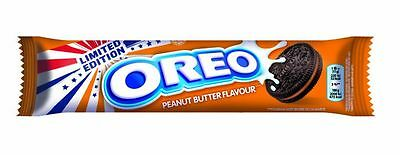 OREO Peanut Butter Flavour Cookies Limited Edition biscuits like Reeses  NEW