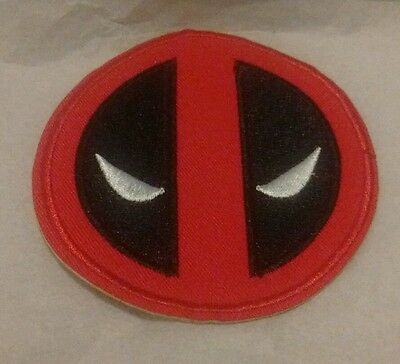 Marvel Comics Deadpool Logo Embroidered Iron On Patch