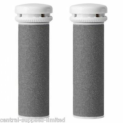 2 x Emjoi Micro Mineral Compatible Pedi Extreme Replacement Rollers