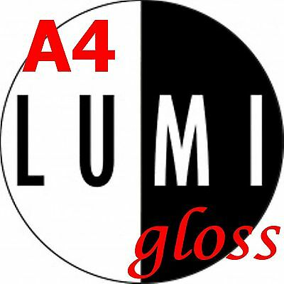 500 sheets 250 gsm A4 LUMI GLOSS DOUBLE SIDED PRINTER PAPER - LASER - DIGITAL