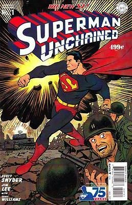 SUPERMAN UNCHAINED #4 DC NEW 52 variant RAGS MORALES 1st print JIM LEE SNYDER NM