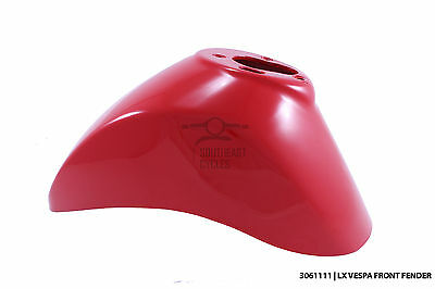 Genuine front fender/mudguard in Red for vespa LX LXV 50-150cc