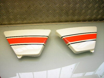 """Seitendeckel Links Rechts Neu? Xs 400 """" Cup """" New? Left+Right Side Cover Panel"""