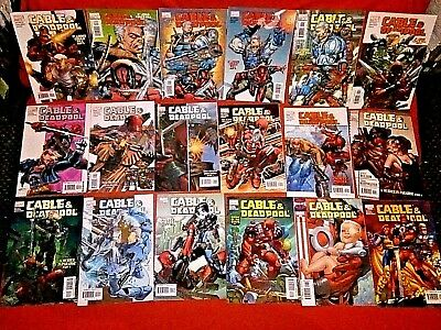 Cable & Deadpool 1 -19 1 2 3 4 5 6 7 8 9 10 11 12 13 14 15 16 17 18 Rob Liefeld