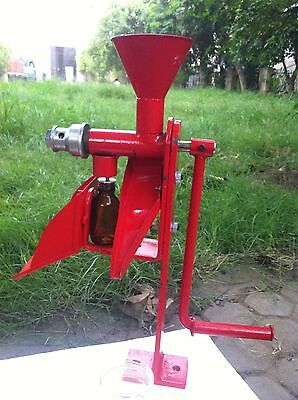2 x Heavy duty Nut & seeds Hand operated oil expeller/screw press with STAND