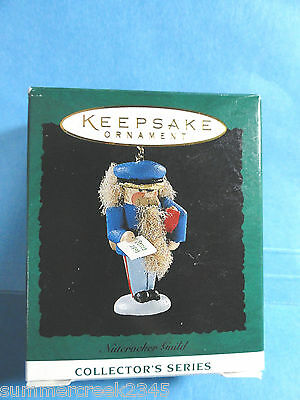 "Hallmark ""Nutcracker Guild"" Miniature Ornament 1995"