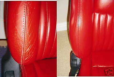 leather dye for ALFA ROMEO GTV 156 164 Convertible 166 Brera 147 500ML OF COLOUR