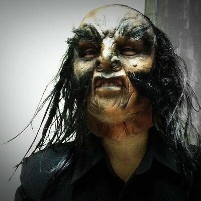 Halloween Orc Lord of the rings Hobbit Latex mask Fancy Dress Party Cosplay