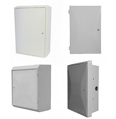 Electric Meter Box Recessed or Surface Mounted Boxes + 1 key BS Approved.